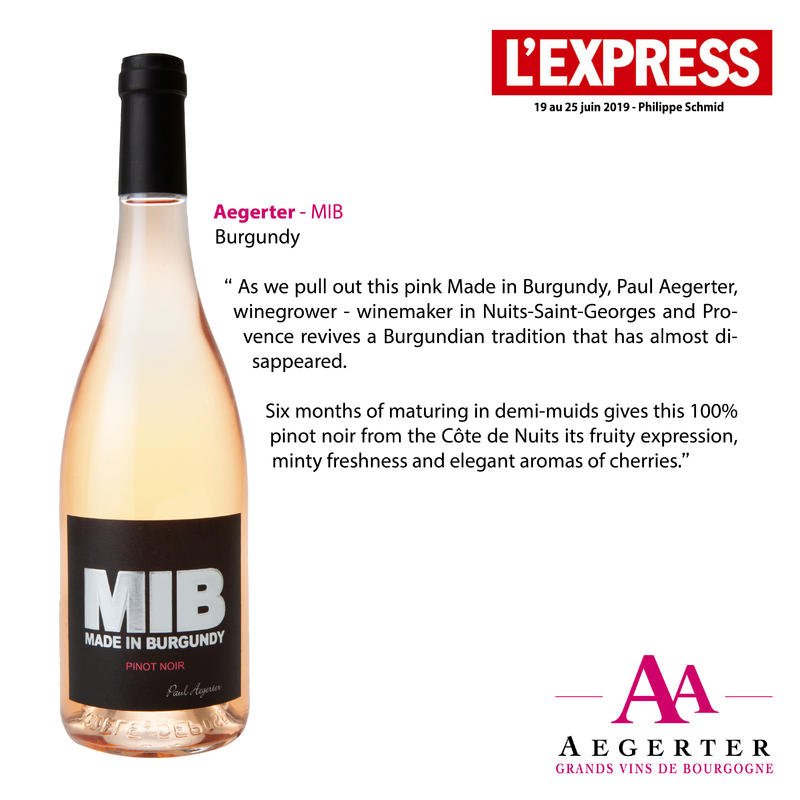 The MIB awarded by l'Express